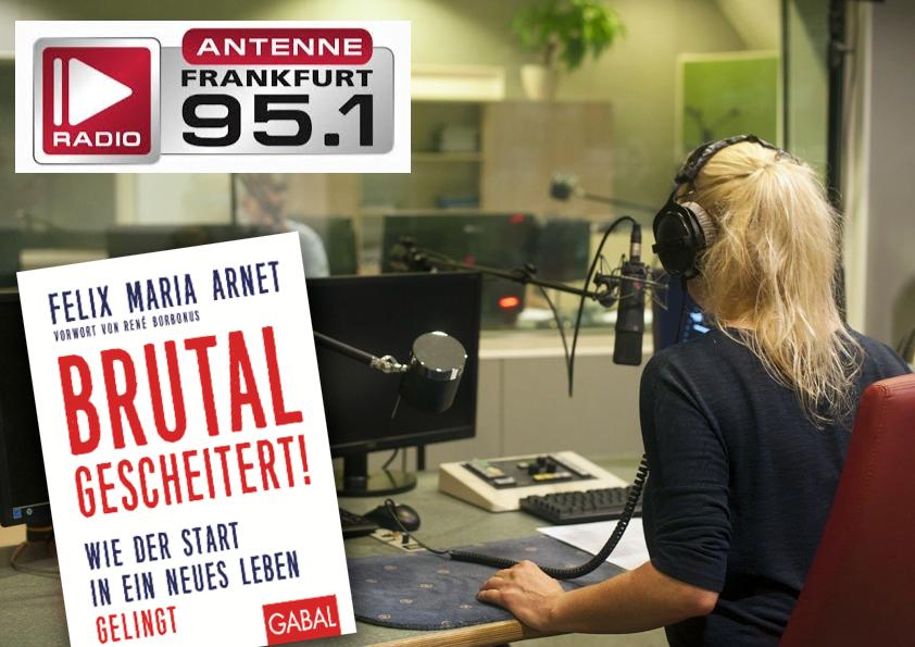 Antenne Frankfurt – Felix Maria Arnet im Interview